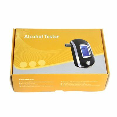 AT-6000 Portable Blowing Alcohol Tester / Driver Drinking Digital Detector FO