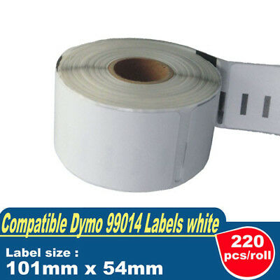 5 ROLLS SD99014 DYMO Compatible Standard Shipping LABELS 101x54mm 99014 SEIKO