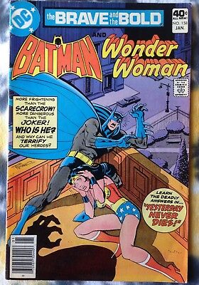THE BRAVE AND THE BOLD #158 Batman / Wonder Woman - DC Comics