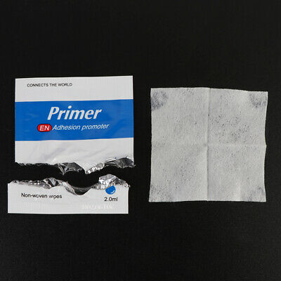 50 Pieces Adhesion Promoter Sponge Applicator Double Tape Vinyl Wrap Primer 94