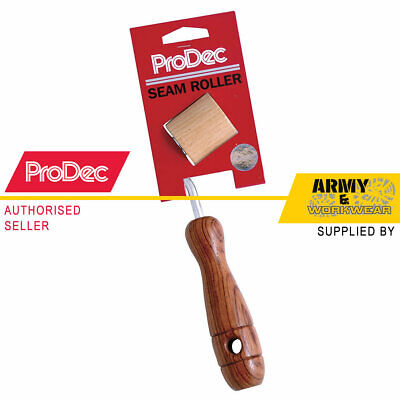 RSR1 ProDec Seam Roller With Rosewood Handle Solid Wood Wallpaper Tool