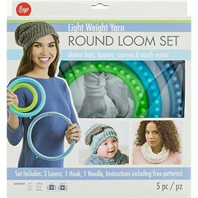 Boye Artsi2 Boy3702102001 Loom Round Set Light Weight Yarn - Circular Fine