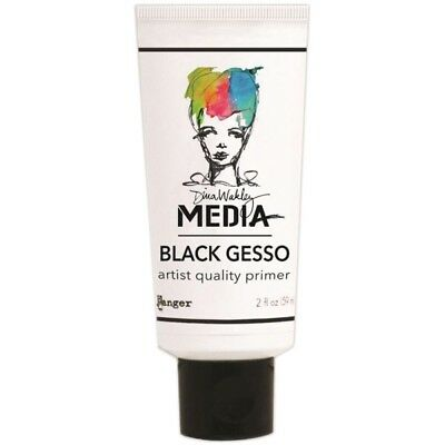 Dina Wakley Media Gesso 2oz Tube-black - Wakely Tubeblack Ranger Set