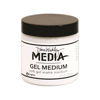 Dina Wakley Medium Medium Media 4oz Jar , Matte Finish - Gel Ranger Acrylic