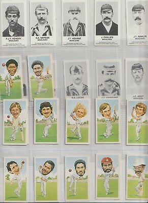 Cigarette Cards Texaco Cricket & Middlesex 1892 At Marks From Collection