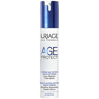 NEW Uriage Eau Thermale Age Protect Multi-Action Detox Night Cream 40ml