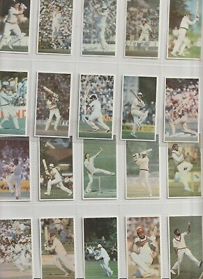 Cigarette / Tea Cards Hobbypress Worlds Greatest Crickets Set 20 From Collection