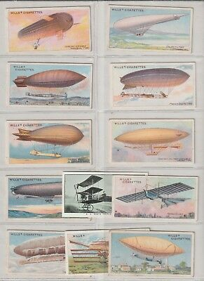 Cigarette / Tea Cards Wills Aviation Small Selection From Collection
