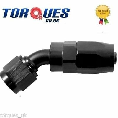 AN -4 (AN4 JIC -4 AN 04) 30 Degree FastFlow Hose Fitting in Stealth Black