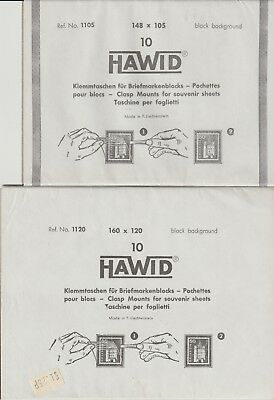 Hawid Stamp Mounts Unused In Packets Selection Number 05 From Collection