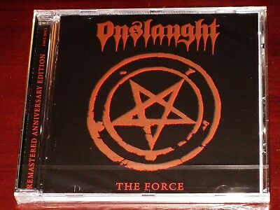 Onslaught: The Force - 30th Anniversary Edition CD 2012 Remaster AFM Germany NEW