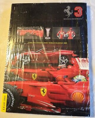 Ferrari Official Magazine Year 2008 Nr 3 Yearbook English  And Italian Language