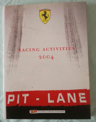 Ferrari Official 2004 Racing Activities Yearbook English  Italian Language New