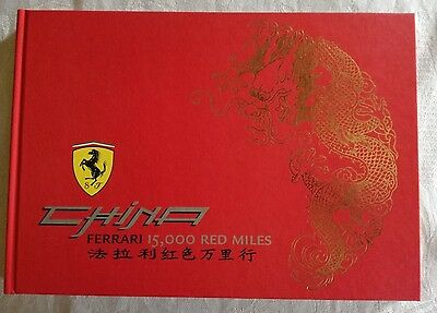 Official Ferrari 2006 Car Book China 15,000 Red Miles  English And Italian