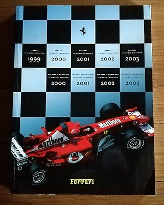 Ferrari Official Yearbook  2003 English  And Italian Language