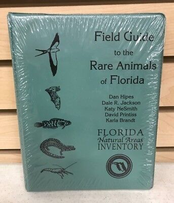 Field Guide To The Rare Animals Of Florida By Florida Natural Areas Inventory