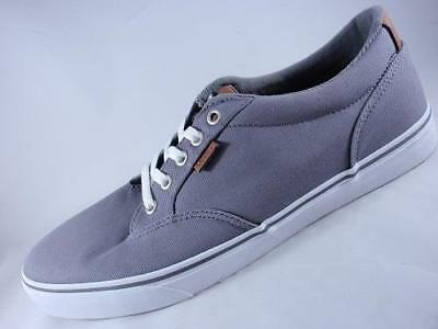 007900132e8 Men s VANS WINSTON Steel Gray Athletic Skate Casual Sneakers Shoes NEW