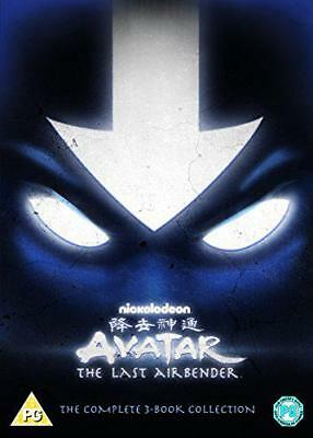 Avatar: The Last Airbender, The Complete 3-Book Collection [DVD], New, DVD, FREE