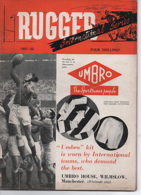 RUGBY UNION - Rugger magazine Annual 1951/52