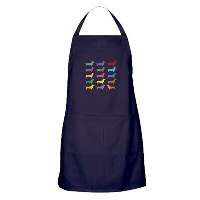 CafePress Colorful Dachshunds Kitchen Apron (1430158709)
