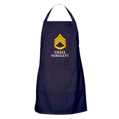 CafePress Grill Sergeant Kitchen Apron (452668802)