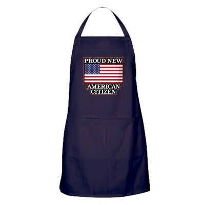 CafePress Proud New American Citizen Kitchen Apron (144051382)