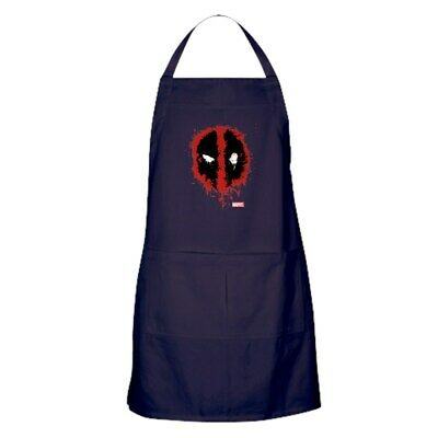 CafePress Deadpool Splatter Mask Kitchen Apron (1668370553)