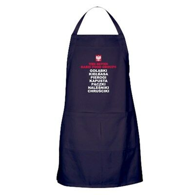 CafePress Seven Basic Polish Food Groups Kitchen Apron (1712682074)