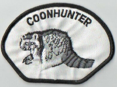Coonhunter Embroidered Iron/sew On Patch New