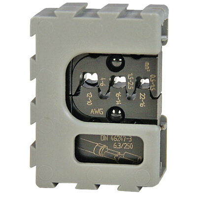 Pressmaster 4300-3146 Mobile Die Set For Non-Insulated Open Barrel 0.5 - 6mm²