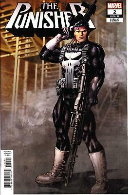 Punisher #2 1/25 Mike Deodato Variant Retailer Incentive Marvel Legacy
