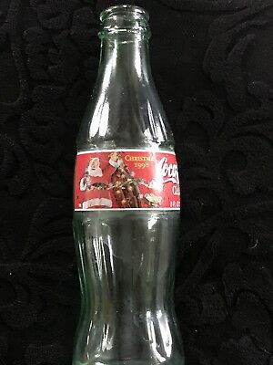A Santa Coca-Cola Bottle