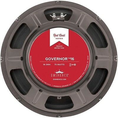 """Eminence Red Coat The Governor 12"""" 75W Guitar Speaker 16 Ohm"""
