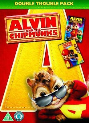 Alvin and the Chipmunks 1 and 2 Double Pack [DVD], Very Good DVD, ,