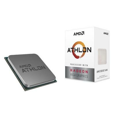 AMD Athlon 200GE AM4 3.2Ghz Dual Core Radeon Vega Graphics Desktop Processor CPU