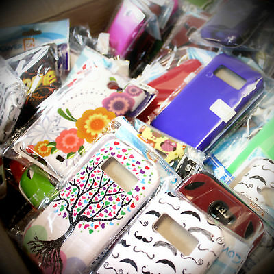 Lot 100 Bulk Wholesale Cell Phone Cases & Accessories - Covers Screen Protectors