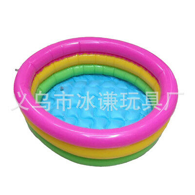Intex Inflatable Sunset Glow Colorful Backyard Bay Kids Play Pool