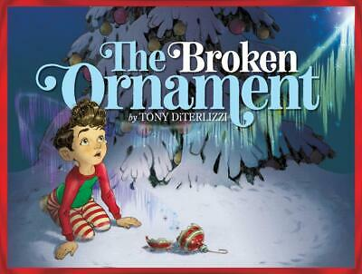 The Broken Ornament by Tony DiTerlizzi Hardcover Book Free Shipping!