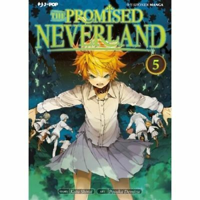 The Promised Neverland N° 5 - Edizioni BD - Jpop - ITALIANO NUOVO #NSF3