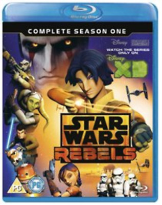 Star Wars Rebels: Complete Season 1 (2 Blu-Ray) [Edizion (UK IMPORT) Blu-ray NEW