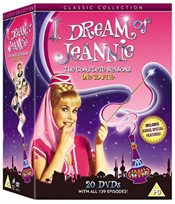 I Dream Of Jeannie:the Complete Series (Uk Import) Dvd [Region 2] New