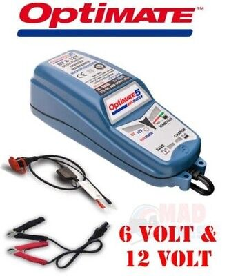 Optimate 5 Voltmatic 6V & 12V Intelligent Entièrement Automatique Chargeur