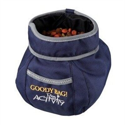 Trixie Dog Activity Goody Bag, 16 x 11 Diameter - Bag Snack Treat Clip Training