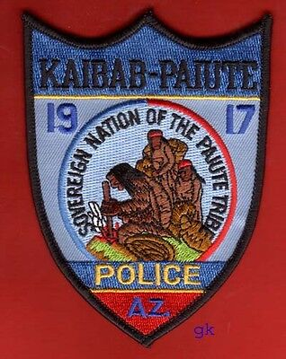 Kaibab-Paiute Arizona Tribal Police Shoulder  Patch