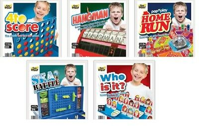 Full Size Kids Range Of 5 Family Board Game Games Childrens Frustration Guess
