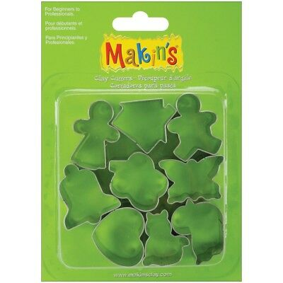 Makin's Usa M370-12 Clay Cutters, Everyday, 9 Per Package - Makins Cutters