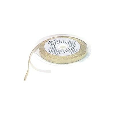 Clover 700-g Quick Fusible Bias Tape, 1/4-inch Wide By 11-yard, Gold Lame -