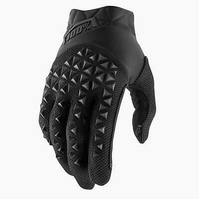 2019 100% Airmatic Motocross Mx Mtb Bike Gloves - Black / Charcoal