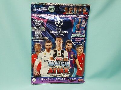 Topps Match Attax Champions League 2018/2019 Starterpack Limited Edition 18/19
