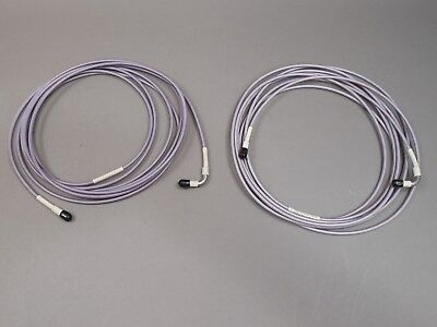 Lot of 2 Gore 17ft Cable Assembly SMA Male/Male Microwave Test Cable